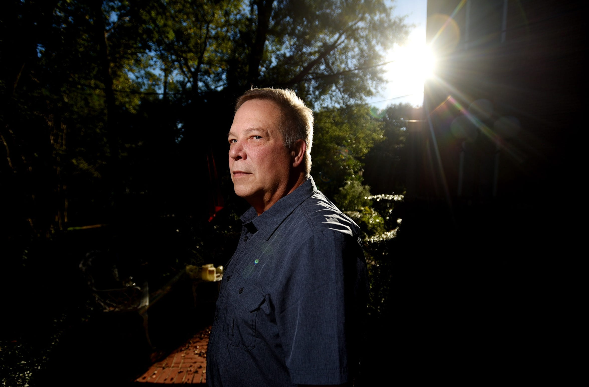 """Jimmy Harris, a neighbor of Richard Williams. Williams died after receiving severe burns when checking a gas leak in his back yard with a lit cigar in 2016. """"I wasn't that concerned because I felt like if it was a big major safety issue that the gas company would have taken care of it,"""" said Harris."""
