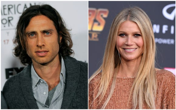 Mr. and Mrs! Brad Falchuck and Gwyneth Paltrow