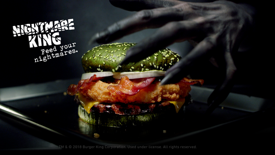 Burger King has a new sandwich for Halloween.