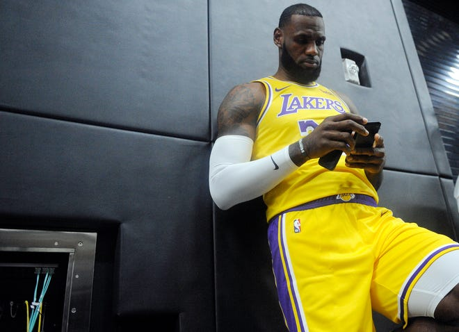 New Lakers star LeBron James is 33 and entering what should be one of the most challenging of his 16 NBA seasons.