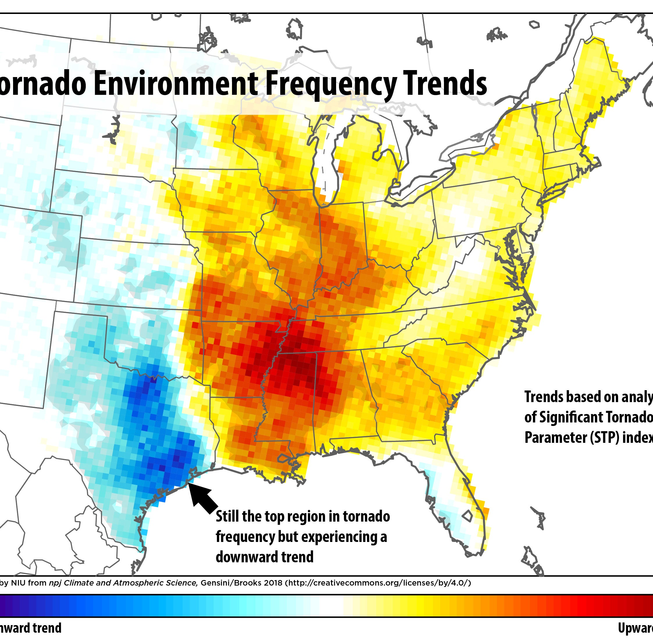 'Tornado Alley' could be shifting in our direction