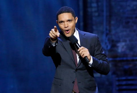 """In Trevor Noah's new Netflix special, """"Son of Patricia,"""" the comedian recalled a meeting with then-President Barack Obama."""