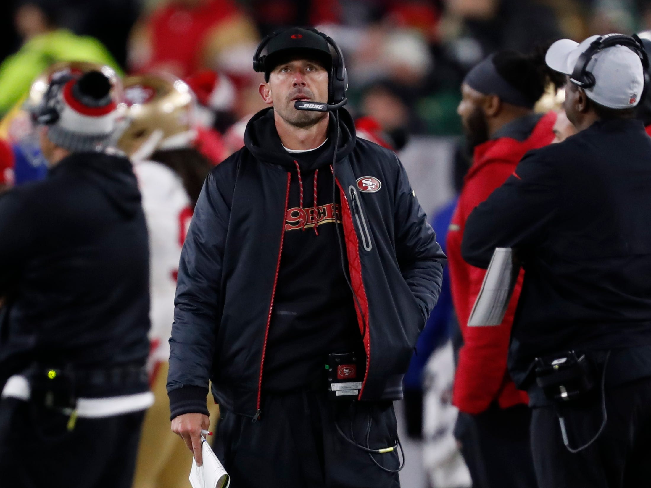 30. 49ers (32): They seem to lose a key player by the week, yet Kyle Shanahan's charges fight to the final whistle week after week, an encouraging sign for the future.