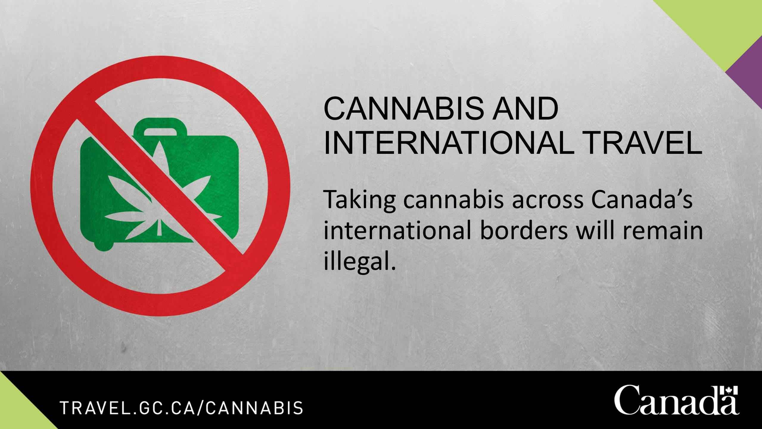 Canadians worry legal marijuana could get them banned from crossing into the U.S.