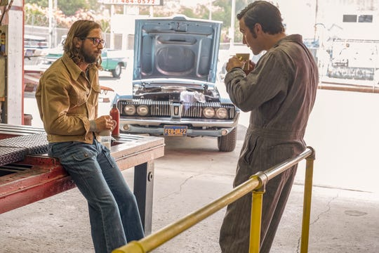 "Michael Angarano as Nicky and Milo Ventimiglia as Jack Pearson on ""This Is Us"""