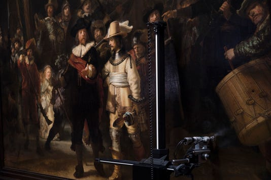 Ap Netherlands Night Watch Restoration I Nld