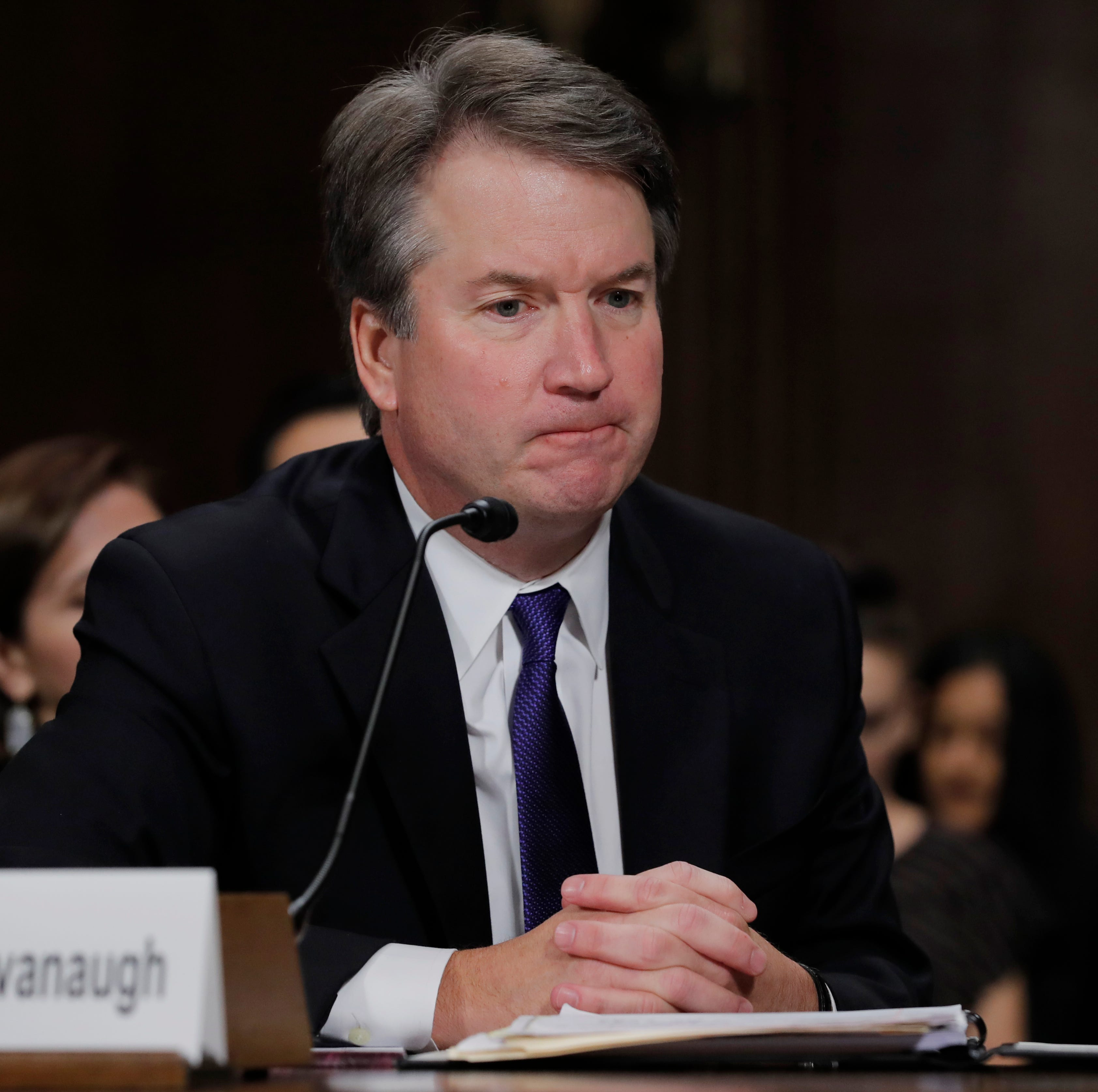 Letters: Should Kavanaugh be on Supreme Court