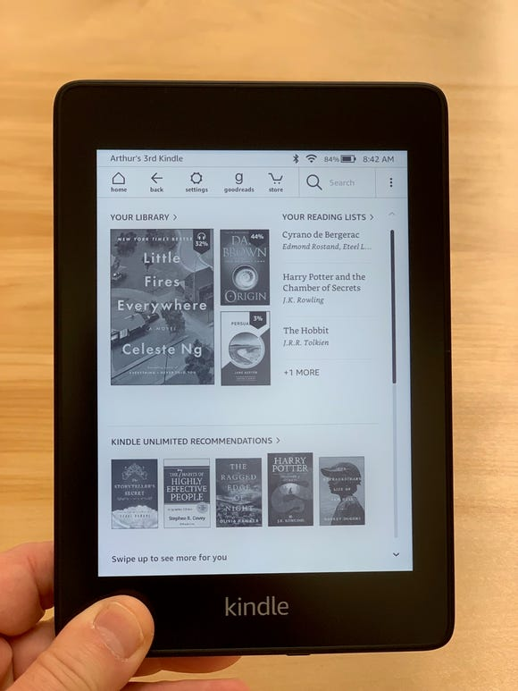 Amazon Kindle Paperwhite is now waterproof.