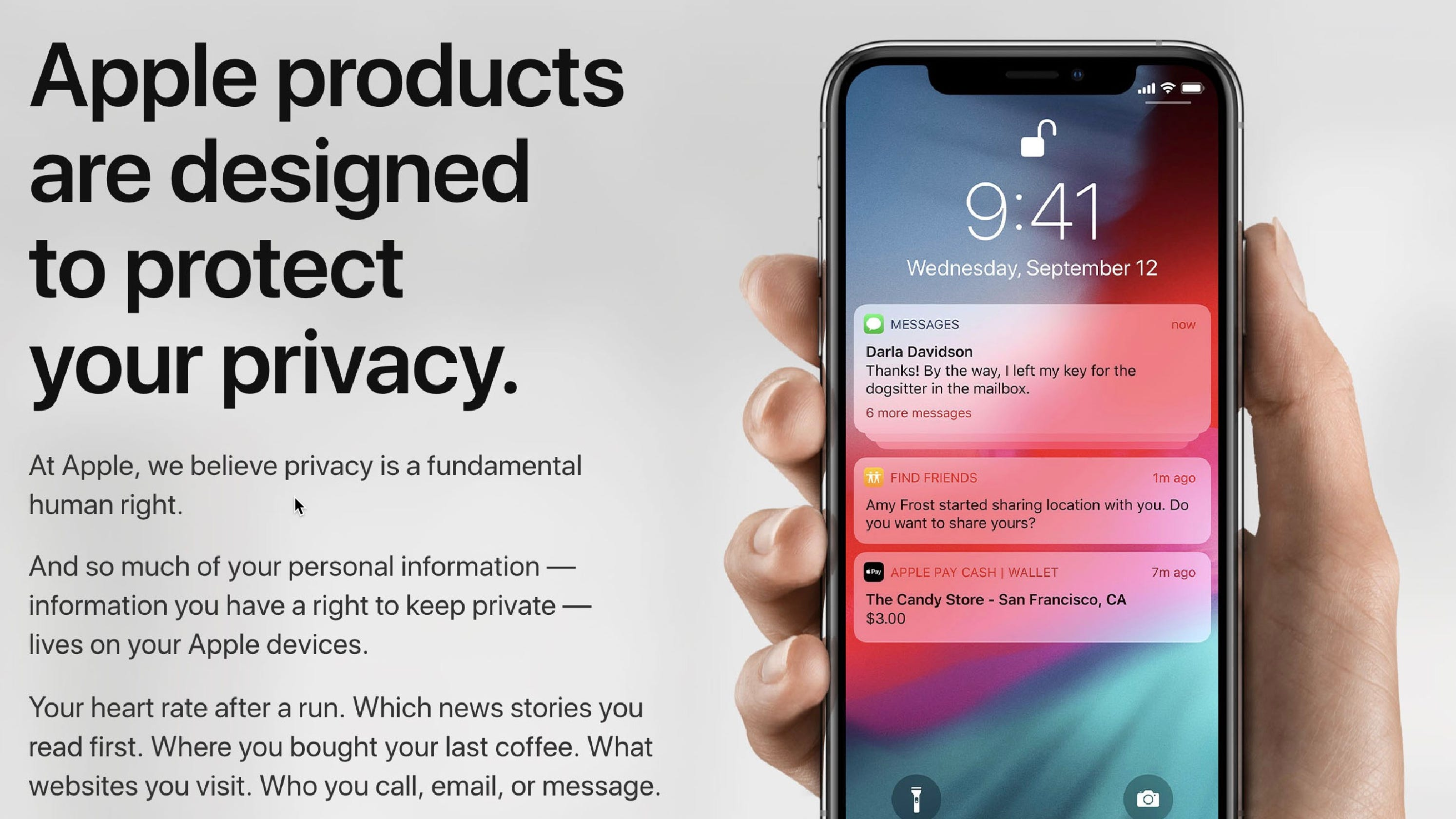 You can finally download your personal data from Apple without asking