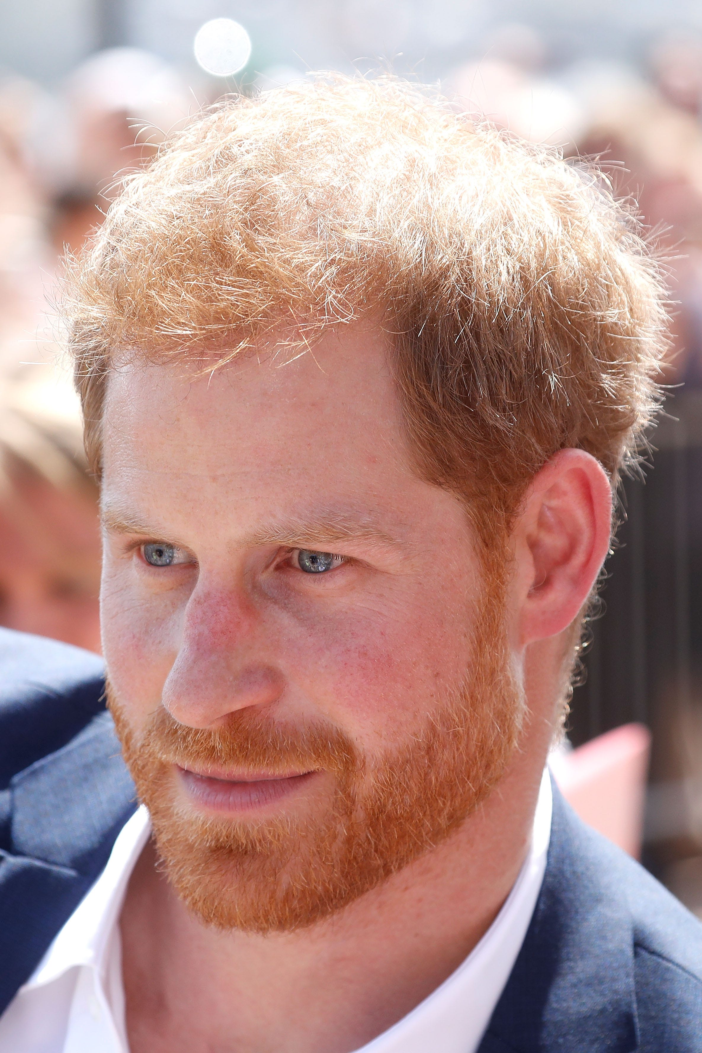 Prince Harry greets fans at the Sydney Opera House on Oct. 16, 2018 in Sydney, Australia, at start of the Duke and Duchess of Sussex's 16-day tour Down Under.