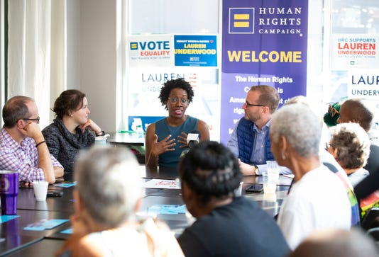 Ap Lauren Underwood Lgbtq Roundtable A Cpacom Usa Il
