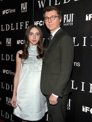 """Wildlife"" co-writers Zoe Kazan, left, and Paul Dano."