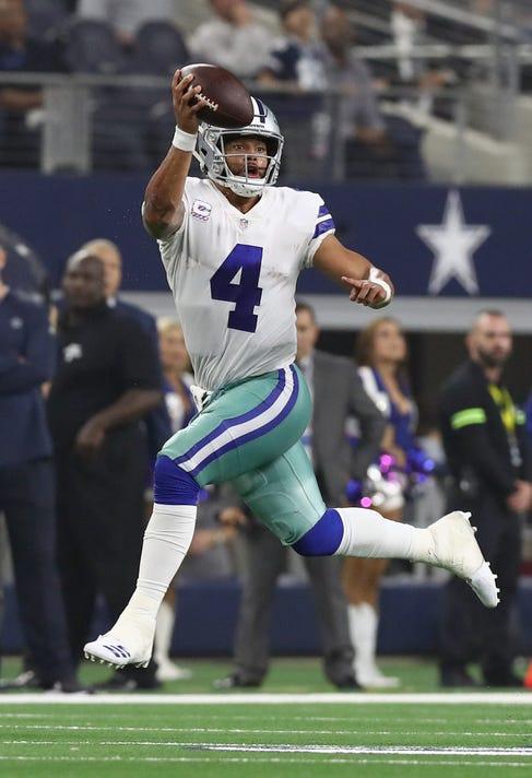 2edefdafe5d50 Nfl Jacksonville Jaguars At Dallas Cowboys. Dallas Cowboys quarterback Dak  Prescott (4) ...