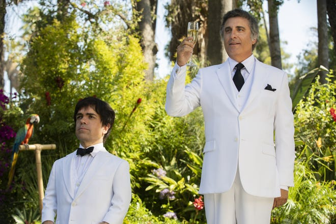 Peter Dinklage, left, and Andy Garcia