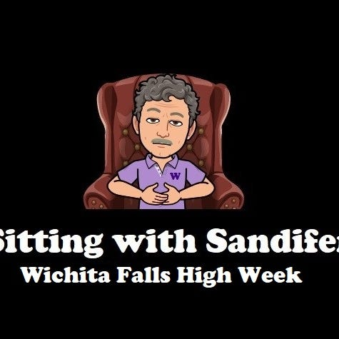 Sitting with Sandifer: Wylie facing size speed again against Wichita Falls High