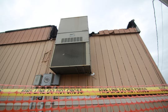 The heating and air conditioning unit is likely to blame for a fire that damaged an early education modular classroom at Mars Hill Elementary School, according to school officials.