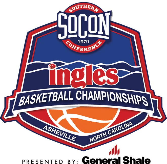The new logo for the SoCon basketball championship tournament, with Ingles as the title sponsor, through 2021.