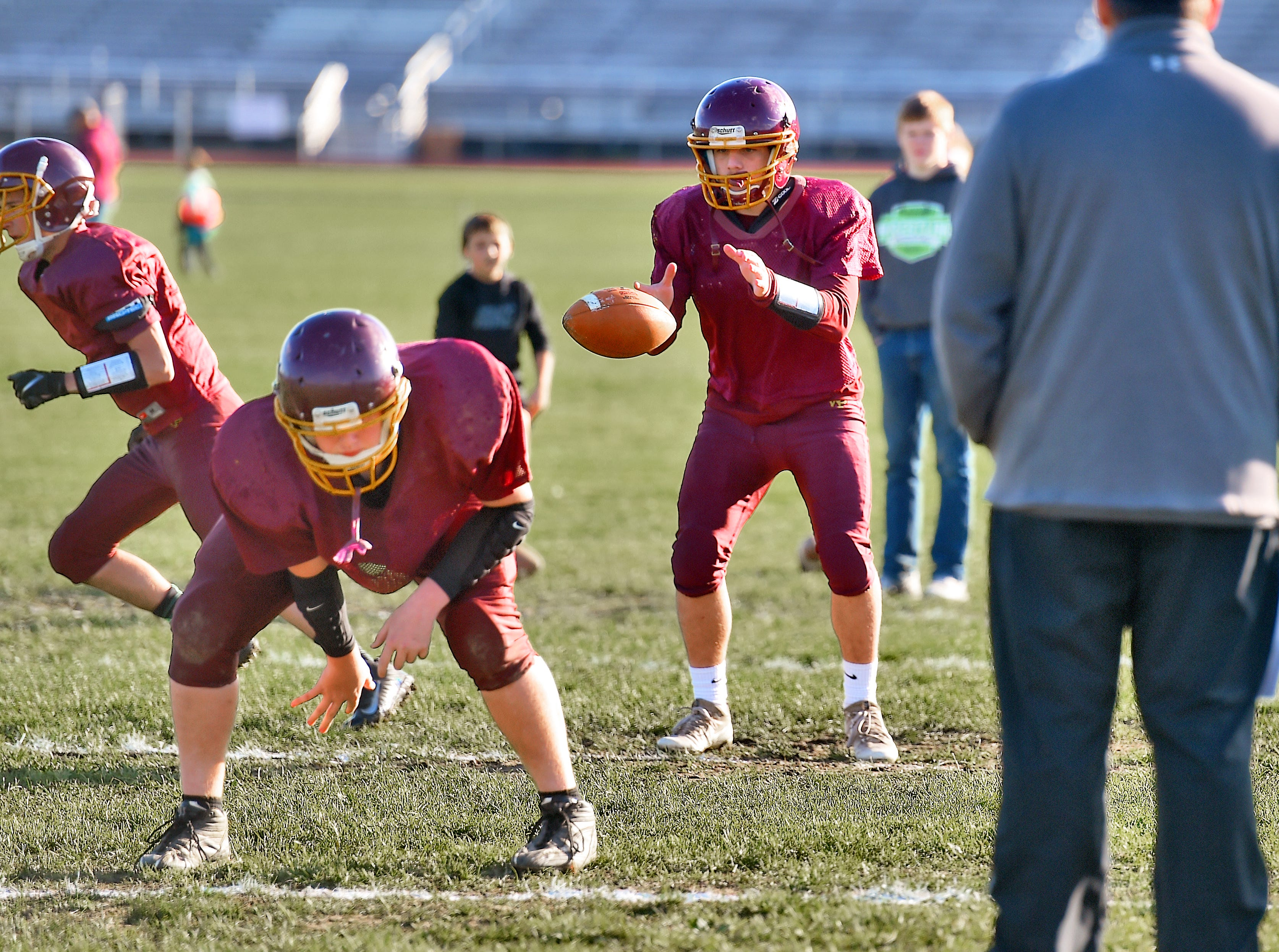 Andy Davis, a senior football player at Whitney Point High School, Athlete Of The Week, October 16, 2018.