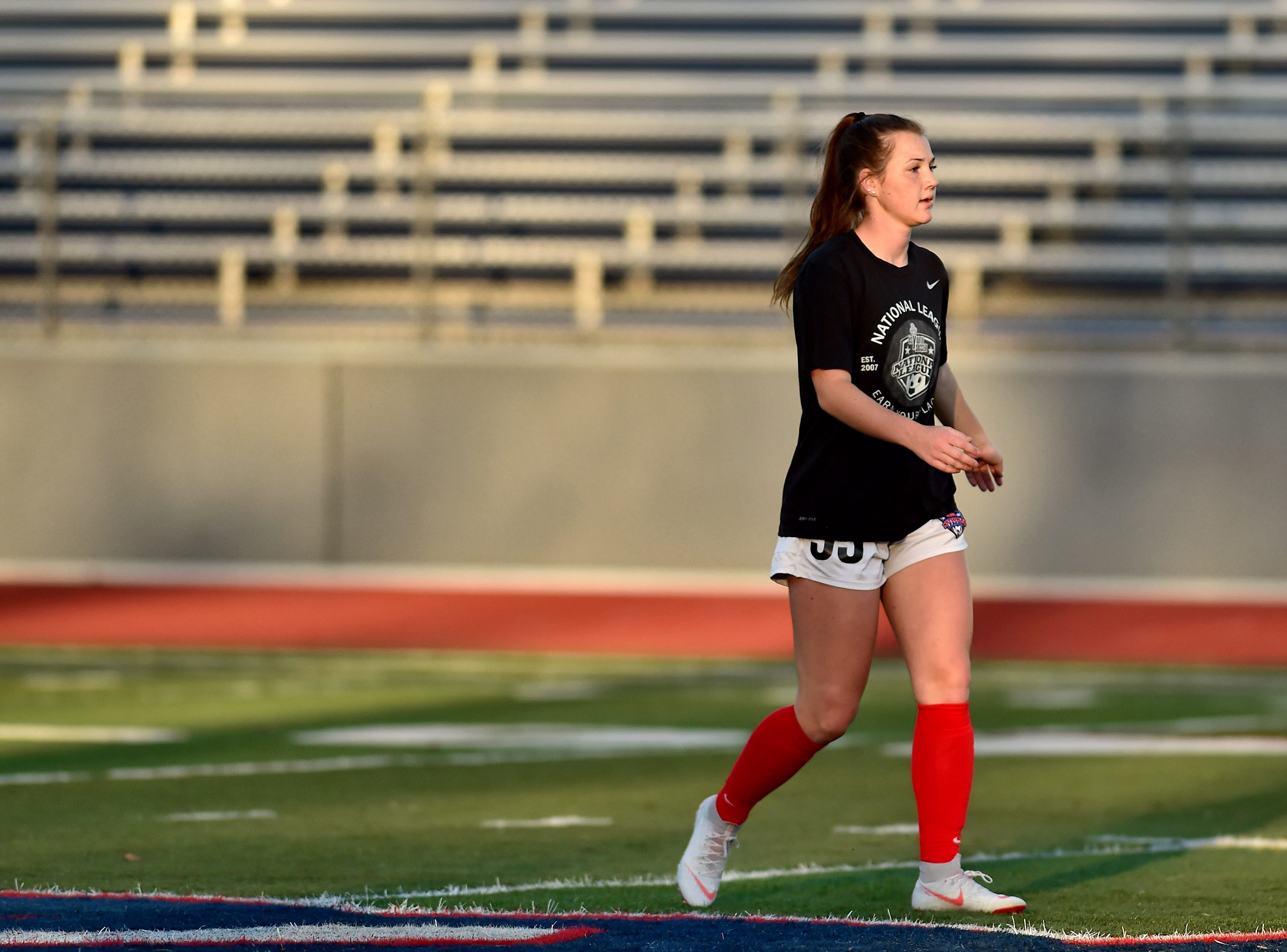 Emma Bough, a junior soccer player at Chenango Forks High School, Athlete Of The Week, October 16, 2018.