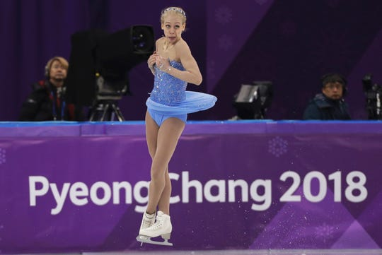 Bradie Tennell at the 2018 Winter Olympics in Gangneung, South Korea. For the season following an Olympics, Skate America certainly is packed with top U.S. competitors. The six-event Grand Prix series begins in Everett, Washington on Friday, Oct. 19.