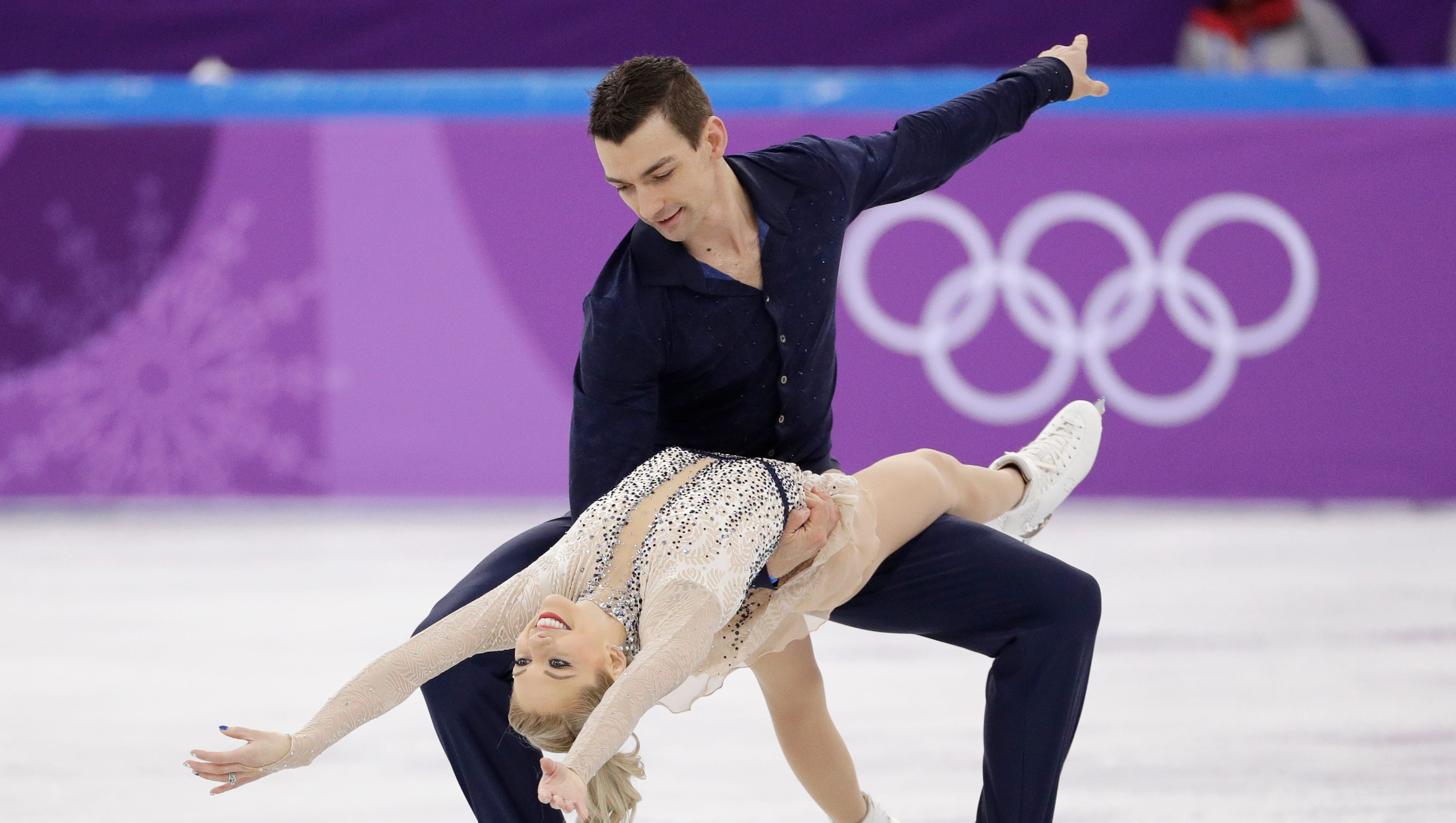 Alexa Scimeca Knierim and Chris Knierim at the 2018 Winter Olympics in Gangneung, South Korea. For the season following an Olympics, Skate America certainly is packed with top U.S. competitors. The six-event Grand Prix series begins in Everett on Friday.
