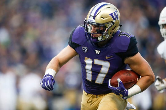 Tevis Bartlett is Washington's second-leading tackler, behind only his friend and fellow inside linebacker Ben Bur-Kirven.