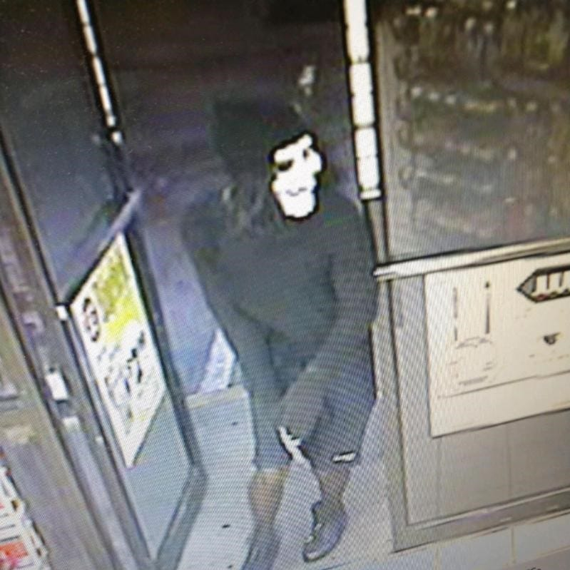 Robber in Halloween mask targets convenience store
