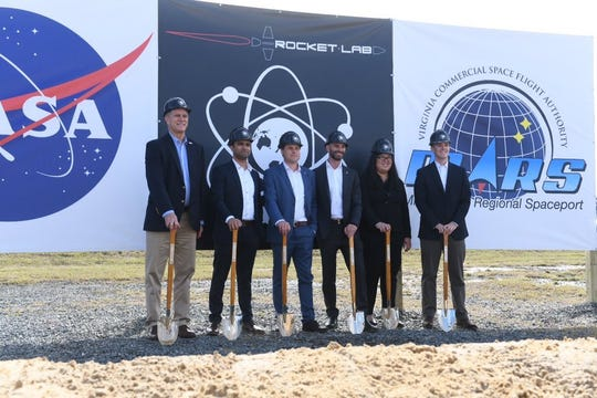 "Rocket Lab on Wednesday participated in a ceremonial groundbreaking at the Mid-Atlantic Regional Spaceport on Wallops Island, Virginia, Rocket Lab plans to launch up to 12 Electron rockets a year starting in late 2019. Rocket Lab chose Wallops over Cape Canaveral and other sites after an ""exhaustive"" search."
