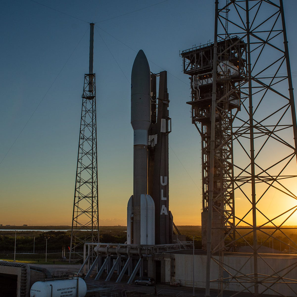 Watch ULA's powerful Atlas V launch a $1.8 billion Air Force satellite from Cape Canaveral