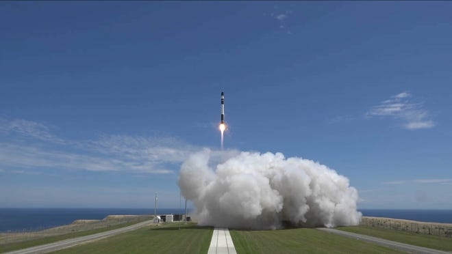 On Jan. 21, 2018, Rocket Lab's Electron small satellite launcher lifted off on the a test flight from the company's launch complex on New Zealand's Mahia Peninsula.