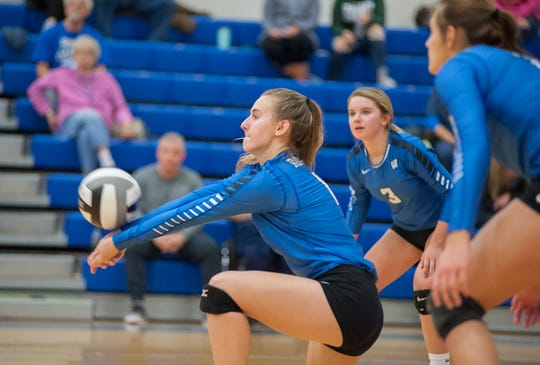 Lainey Holman missed a handful of games for Wynford and still managed to total some impressive stats.