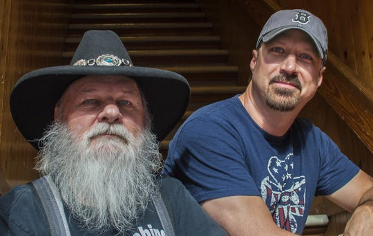 """Jamie Lee Thurston and his father, Jimmy T Thurston, perform Oct. 27 in the """"Thurston HOWLoween Bash"""" in Essex."""