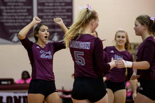 London will make its fourth straight appearance in a regional tournament on Friday.