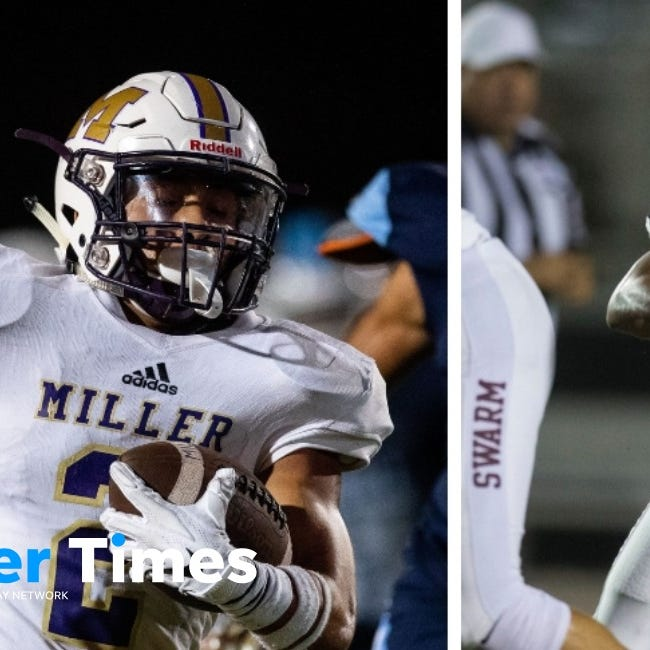 A breakdown of Flour Bluff vs. Miller and more from Week 8 of high school football