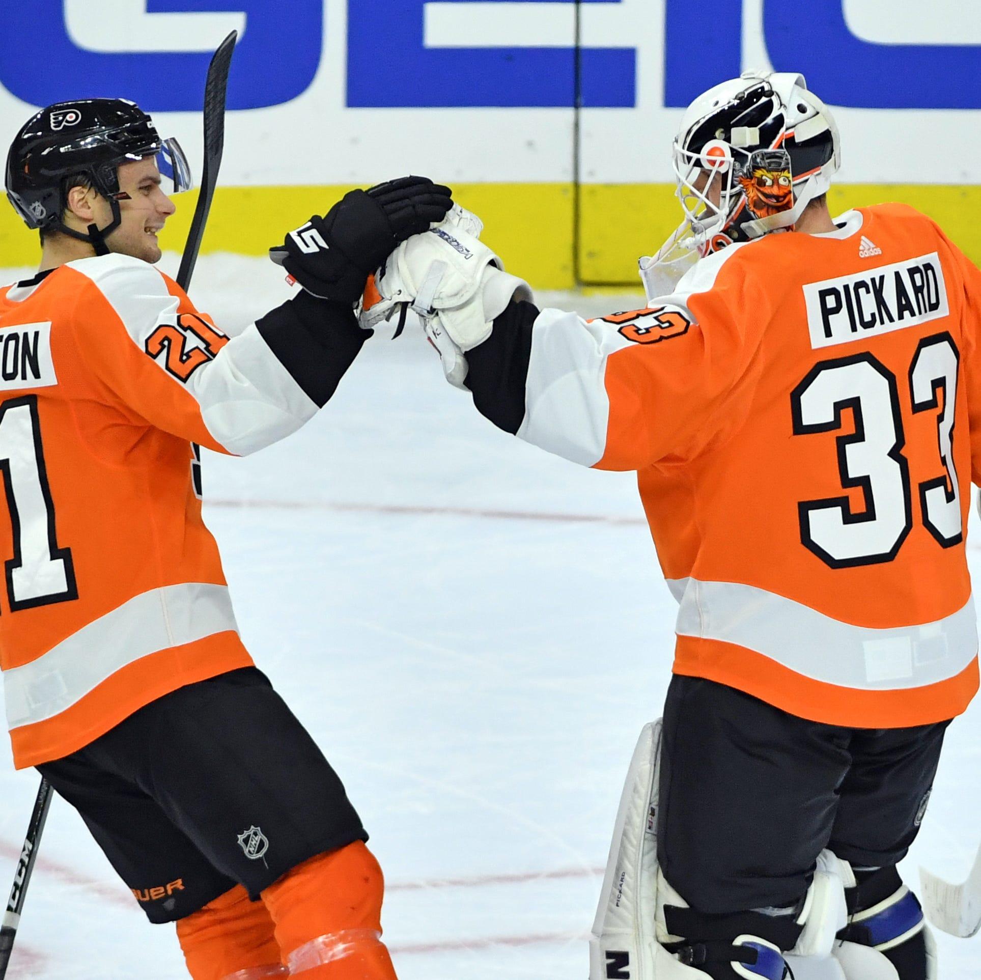 Flyers 5 takeaways: Blown lead, poor start…and a win