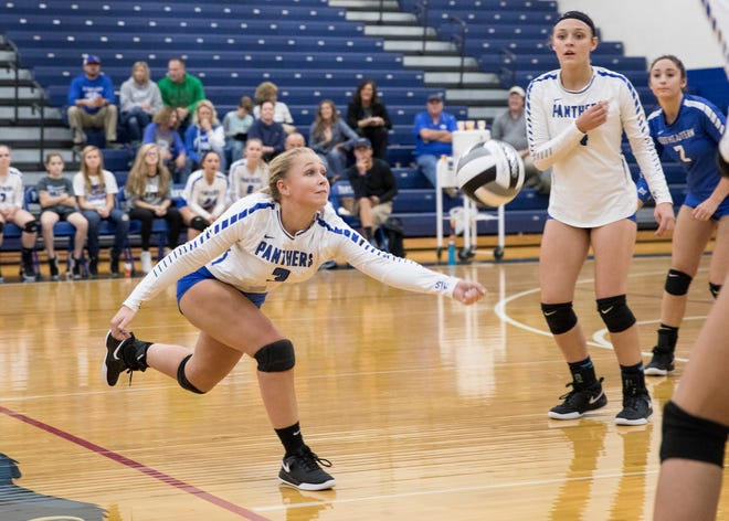 Five Scioto Valley Conference volleyball teams won their sectional finals matches, advancing to the district semifinals.