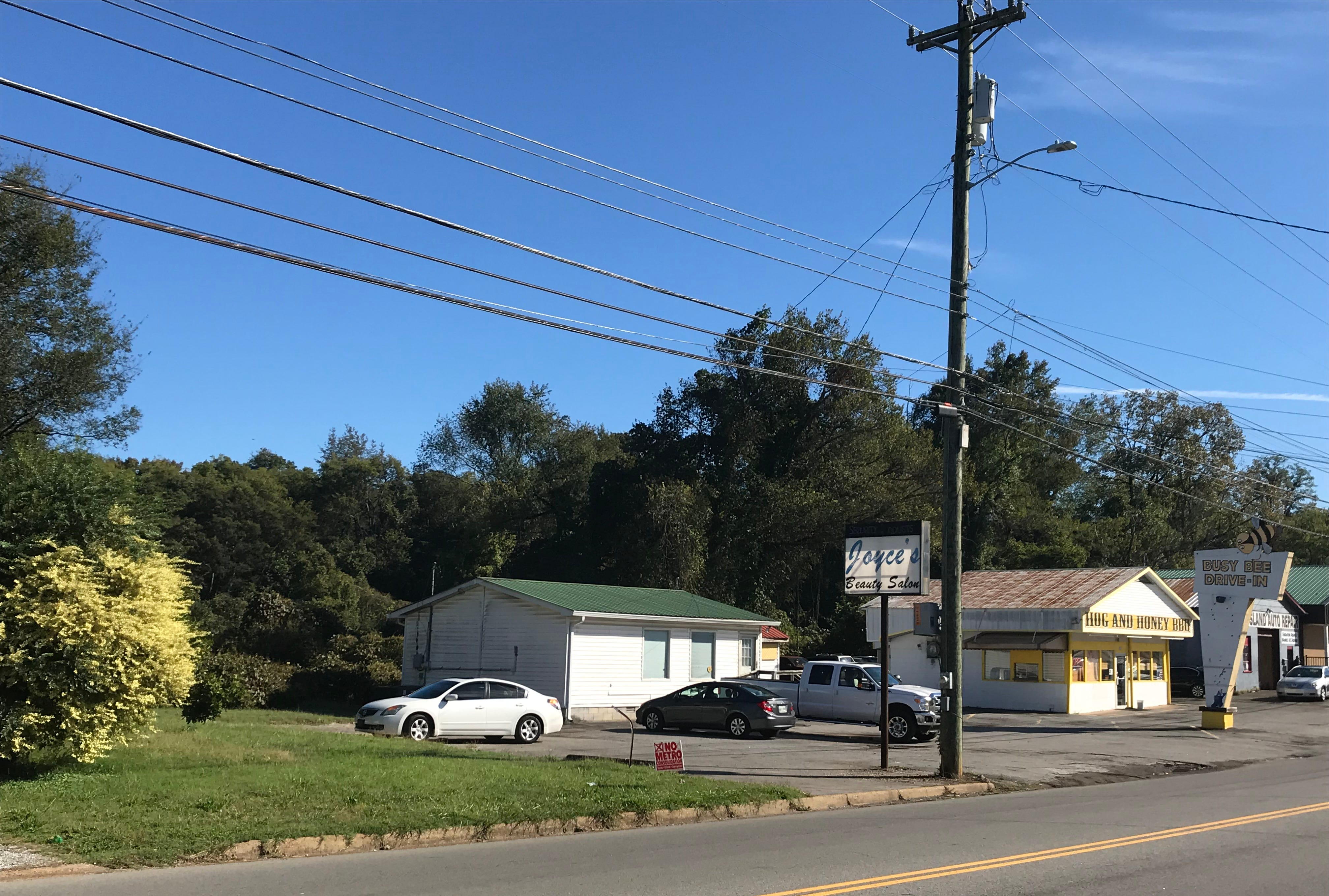 Loaves & Fishes plans to relocate to a plot of nearly 6 acres of land behind these businesses at Crossland Ave. and Martin St. in Clarksville, where they hope to construct their new facility.