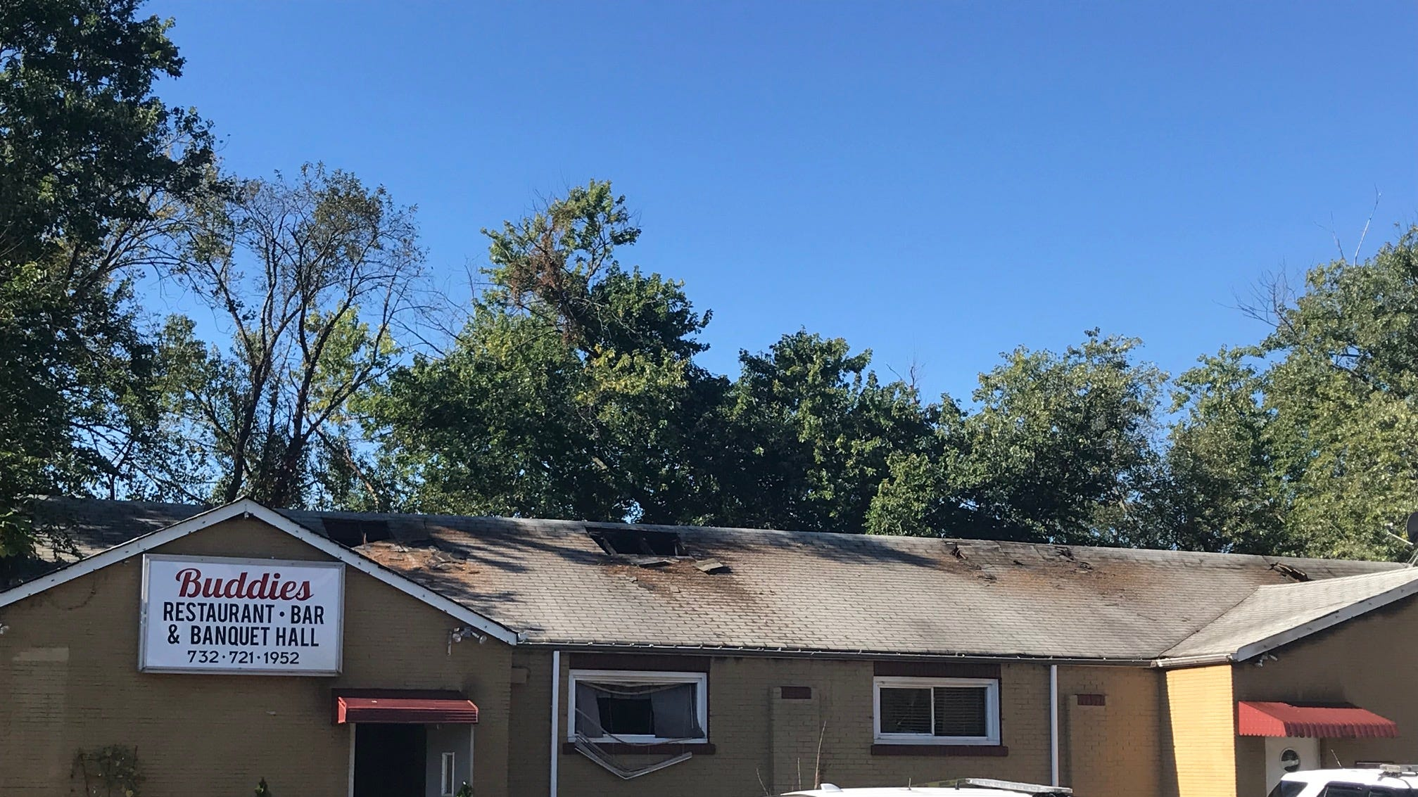 A fire reported early Wednesday morning, severely damaged Buddies Restaurant and Banquet Hall in the Parlin section of Sayreville.
