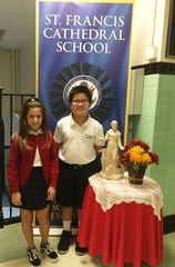 Congratulations to the winners of the St. Francis Cathedral School (SFCS) 4th & 5th Grade Annual Spelling Bee. The contest took place on Friday, October 5th. First place winner was fifth grader, David Adlao and second place went to Amelina Spallino. SFCS is located in Metuchen and educates children from PreK to 8th Grade.