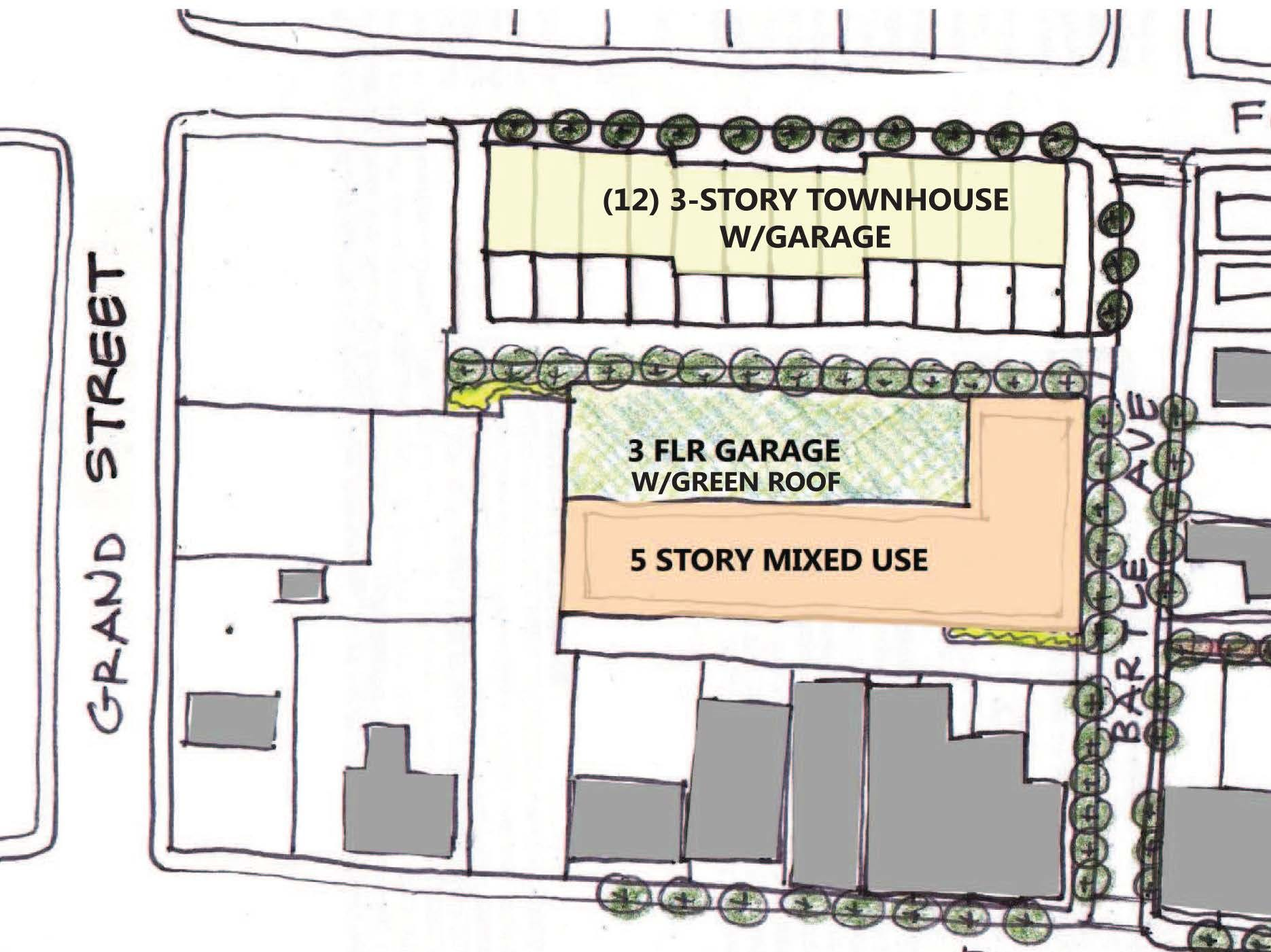 A look at Scotch Plains' plan to redevelopment its public library and the adjacent parking lot.