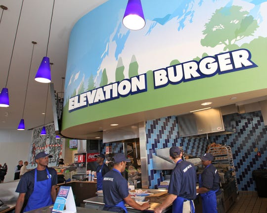 An Elevation Burger location.