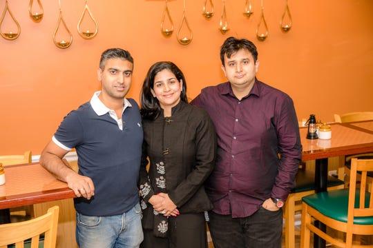 Mansi Khandelwal, Kartikeya Kathpalia and chef Nik Sharma.