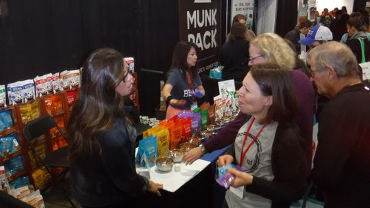 The Gluten Free & Allergen Friendly Expo was held at Meadowlands Exposition Center in Secaucus on Saturday, Oct. 13, and Sunday, Oct. 14.