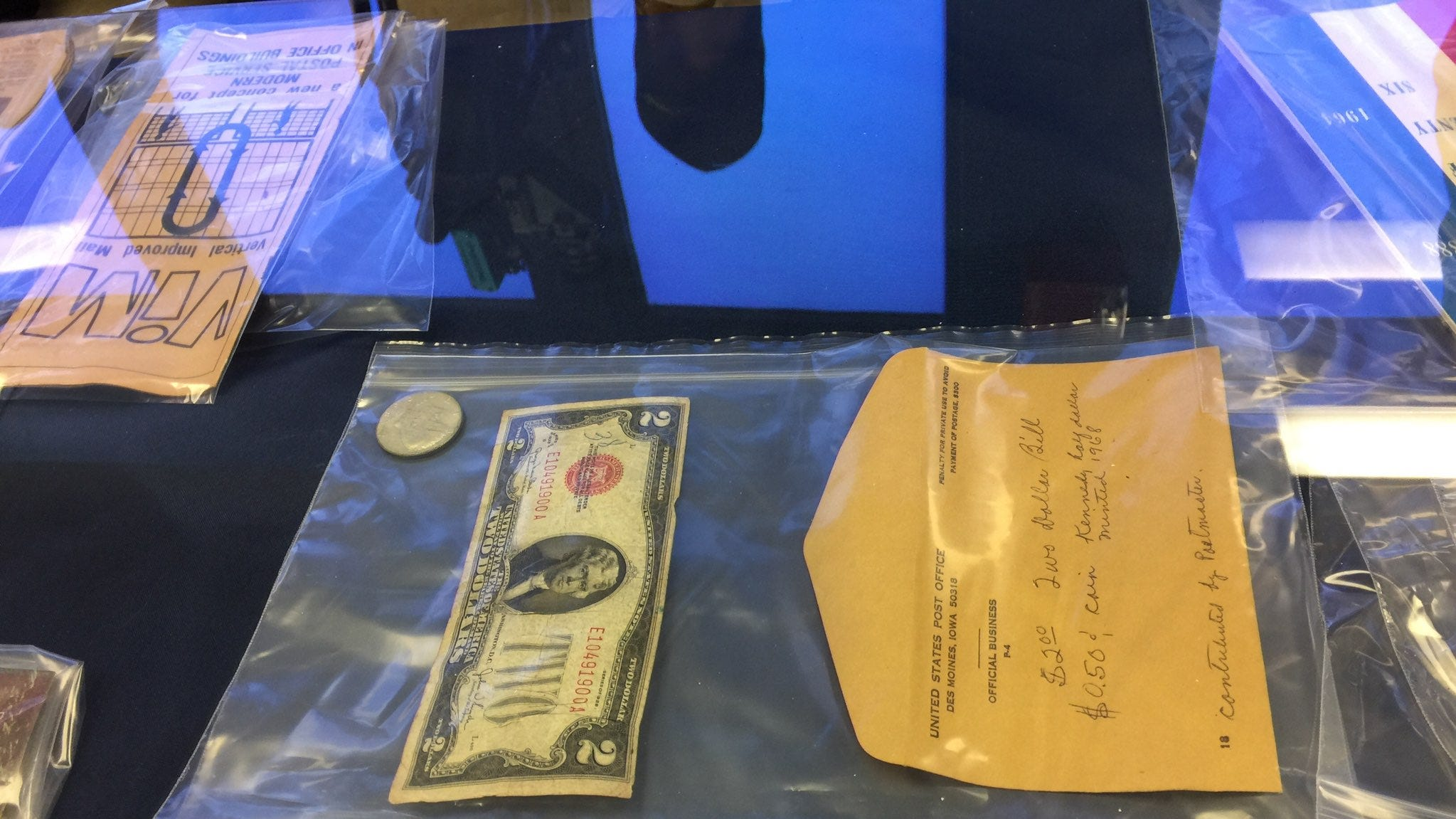 50 years later, Des Moines Post Office opens time capsule