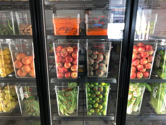 Evolve Juicery and Paleo Kitchen opened in downtown Des Moines on October 15, 2018.