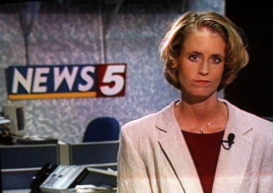 News 5 photojournalist Kimberly Arms in 1997.