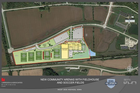 See Plans For West Des Moines Indoor Soccer Hockey Complex