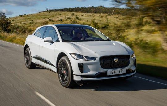 2019 Jaguar I-Pace, European model