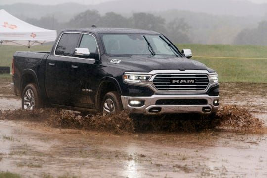 The 2019 Ram 1500 at the Texas Truck Rodeo in Dripping Springs, Texas on October 15, 2018.