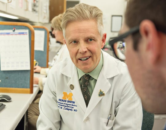 Dr. Mark Zalupski.